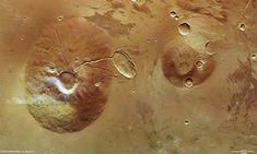 Volcanoes on Mars