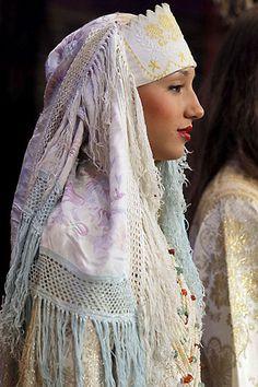 Caftan Vintage detail by Mme Fatema hijji benhida