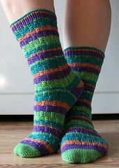 Ravelry: Oh So Nikki Socks pattern by Judy Sumner