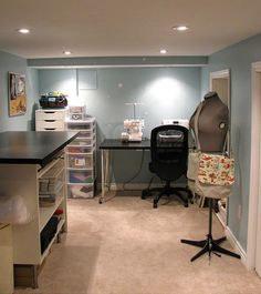 Workspace of the Week: She's crafty - Unclutterer