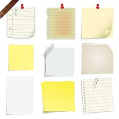 Post It Notes Collection 59 935 Images 1 » Vector | Picideas.net - Vector Graphics