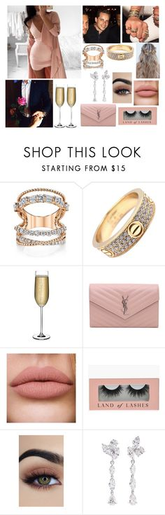 """""""Date night ( life with Jesse"""" by iloveyouflower ❤ liked on Polyvore featuring By Zoé, Cartier, Nude, Yves Saint Laurent and Anyallerie"""
