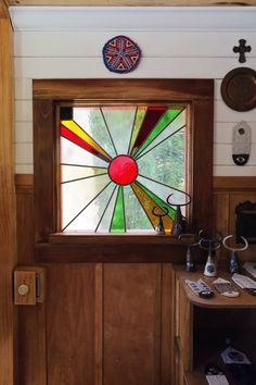 Stained glass window | vardo tarot, shiva rose
