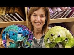 A Lovely Patchwork Frog - YouTube