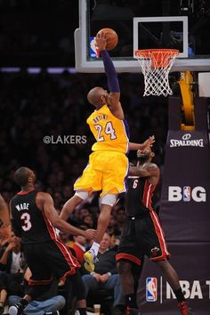 Who is that getting posterized?? HA!