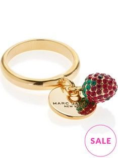 marc-jacobs-mj-coin-strawberry-ring-gold-plated