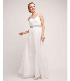 2014 Prom Dresses - White Chiffon Stone Grecian Gown (40769-CIN7934) van Cinderella Divine Moto - This elegant grecian-i...Price - $200.00-JmgiZTkr