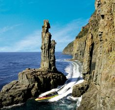 Bruny Island Cruises provides award-winning wilderness cruises in Robert Pennicott's yellow boats. Day tours to Bruny Island available from Hobart, Tasmania. Tasmania Road Trip, Bruny Island, Island Cruises, Rock Pools, Island Tour, Day Tours, Australia Travel, Day Trip, Where To Go
