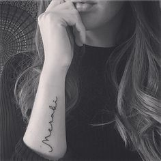 Tattoo Meraki [MAY - RAH - KEE] TO do something with soul, love and creativity; to leave a piece of yourself in to what you are doing...