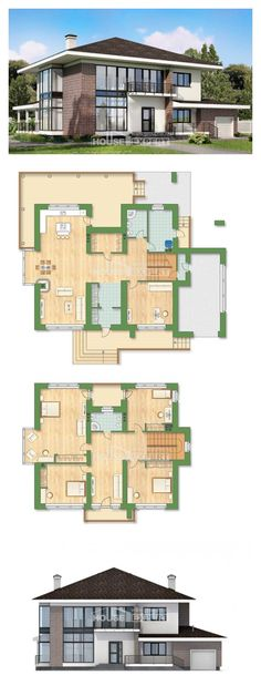 Ev villa projesi 275-002-R | House Expert