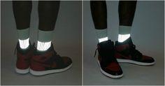 [TOPITRUC] Des chaussettes qui brillent dans le noir pour les cyclistes nocturnes