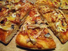 Вкуснейшая Пицца с курицей и грибами / Пошаговый рецепт