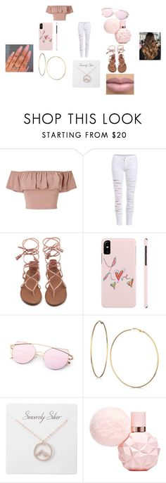 """""""Coachella Day 3"""" by princessladybug07 on Polyvore featuring Miss Selfridge and GUESS"""