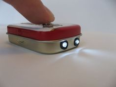 DIY Altoids LED Flashiight by JoshuaZimmerman, instructables #DIY #Flashlight #Altoids