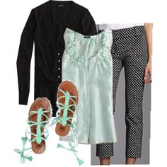 cute 50s style outfit