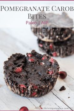 A decadent treat that is AIP-compliant and super easy to make. Enjoy for the holidays or any time of the year when you just need that something sweet. #thrivingonpaleo #aipdesserts #aiprecipes