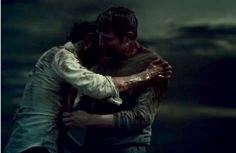 my gifs hannibal hannibal lecter will graham hannigram hannibaledit hannibal spoilers the wrath of the lamb Hannibal looked so fucking happy even orgasmic to have Will in his arms Hannibal Lecter, Hannibal Season 4, Hannibal Tv Series, Nbc Hannibal, Will Graham, Sir Anthony Hopkins, Bryan Fuller, Hemlock Grove, Thomas Harris
