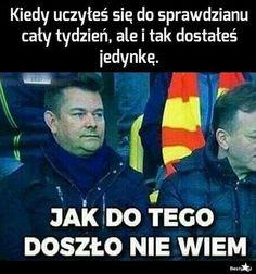 To jest prawda xDD Stupid Funny Memes, Wtf Funny, Hilarious, Funny Lyrics, Polish Memes, Funny Mems, Dark Memes, Life Humor, Best Memes