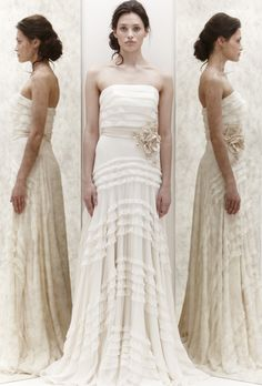 Jenny Packham's Hyacinth from her Spring 2013 Collection