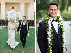 Sweet Samoan Wedding at the Alfond Inn - Orlando Wedding Photographer : Kristen Weaver Photography Samoan Wedding, Polynesian Wedding, Wedding Groom, Wedding Attire, Fall Wedding, Burgundy And Gold, Blush And Gold, Orlando Wedding Photographer, August Wedding