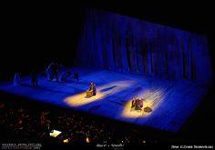 PRIMA // LA BOHÈME // 2012 // Foto Alfredo Tabocchini. La Bohème di Giacomo Puccini allo Sferisterio di Macerata per la regia di Leo Muscato. #allieviemaestri #boheme #altrochelopera www.sferisterio.it