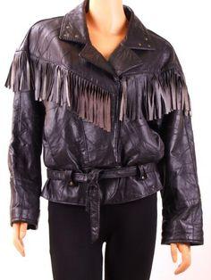 Chaqueta de piel vintage, 80´s, Vintage leather jacket, Veste en cuir retro, Vintage fashion, Retro fashion