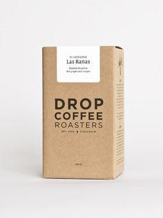 Beans, Drop Coffee Roasters / Stockholm - packaging design | packaging | Design: dropcoffee |