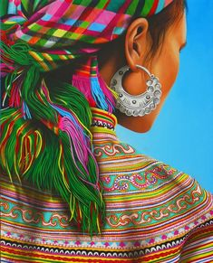 Cathy Chalvignac The world in colors Born 1954 in Paris, France. Mexican Artwork, Mexican Paintings, Mexican Folk Art, Native Art, Native American Art, Mexico Art, Southwest Art, Color Pencil Art, Indigenous Art