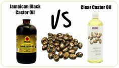 Jamaican Black Castor Oil Vs Clear Castor Oil http://www.blackhairinformation.com/growth/moisturizing/jamaican-black-castor-oil-vs-clear-castor-oil/