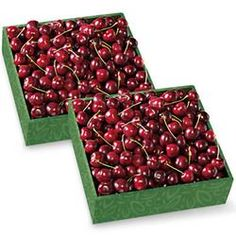 Two Boxes of Cherry-Oh! Cherries - Harry and David