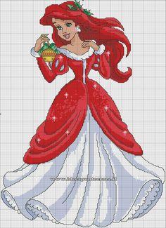 ariel_natalizia__schema_punto_croce_by_syra1974-d9dilwo.jpg 1,000×1,380 pixeles