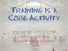 Training is a Core Activity - http://takisathanassiou.com/training-is-a-core-activity/