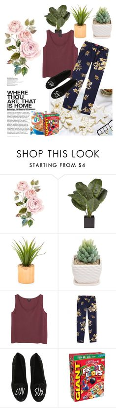 """""""comfy at home"""" by resthirismarinip ❤ liked on Polyvore featuring Monki, Joules, Volcom, women's clothing, women, female, woman, misses and juniors"""