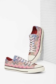 Missoni x Converse All Star Low-Top Sneaker | Shop Shoes at Nasty Gal