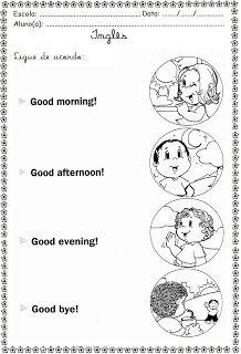 Good Morning, Good afternoon, Good Evening, Good night