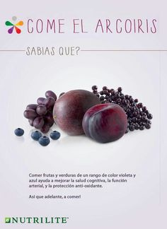 Purple Fruit, Blue Fruits, Nutrilite Vitamins, Artistry Amway, Color Violeta, Eat The Rainbow, Fruits And Vegetables, Veggies, Sports Nutrition