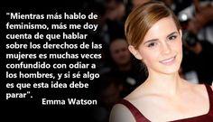 La sociedad ha cambiado, por lo que a diario las mujeres luchan por la igualdad de género. Es así que, muchos artistas han comenzado a ser elegidos como las voces para llevar esa clase de mensajes. Siendo Emma Watson una de las elegidas y la que más ha trabajado en ello. Harry Potter Drawings, Harry Potter Tumblr, Harry Potter Memes, Emma Watson Frases, Ema Watson, Word Sentences, Motivational Messages, Crazy Girls, Power Girl