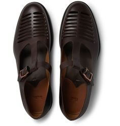 Paul Smith Shoes & Accessories Oskar Cut-Out Leather Sandals