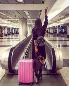 Inicia tu viaje de manera súper chic y fashionista.