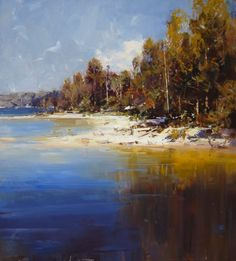 Ken Knight ~ Between Land and Sea... http://www.lintonandkay.com.au/Portals/_default/images/ArtistArtwork/53/Large_53_1989.jpg