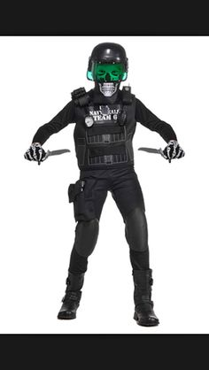 zombie police officer costume