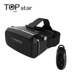 a05f516c7fe Shinecon VR 360 Video Immersive Virtual Reality 3D VR Headset Google  Cardboard Games Glasses Compatible +