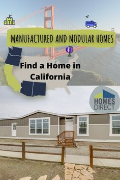 Champion (Lindsay, CA) 3 Bedroom Manufactured Home Yosemite 2964 for $116900 | Model YO2964B from Homes Direct Cheap Mobile Homes, Mobile Homes For Sale, Modular Homes, California Homes, Finding A House, Living Spaces, Champion, Floor Plans, Exterior