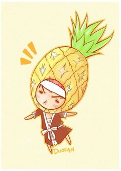 Red Pineapple. Look it's Renji the moocher. :P