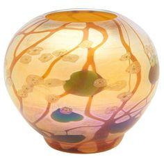 Tiffany Art, Tiffany Glass, Louis Comfort Tiffany, Blue Books, Vases, Art Nouveau, Glass Art, Objects, Auction