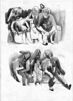 dibujos con relaciones:  dónde