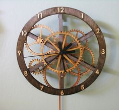 wooden clock | The Wooden Clock