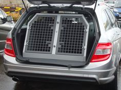 TransK9/B2 Mercedes C Class Estate Dog Cage Dog Crate Dog Transit Box www.transk9.com