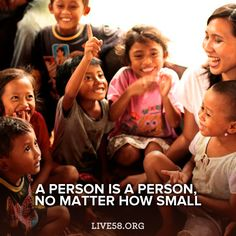 a person is a person no matter how small! Show everyone some #kindness