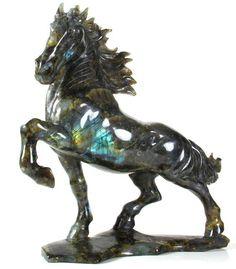 Labradorite Horse